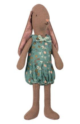 Детского игрушка заяц MAILEG коричневого цвета, арт. 16-8126-01 | Фото 1
