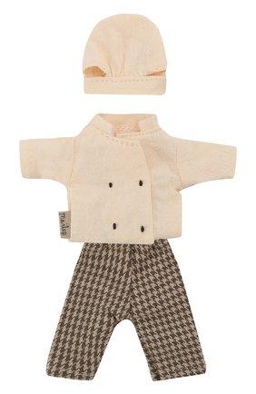 Детского одежда для игрушки форма шеф-повара для мышонка MAILEG разноцветного цвета, арт. 16-9745-02   Фото 1