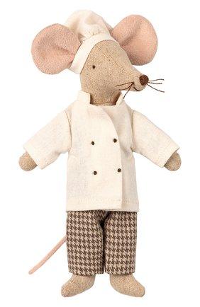Детского игрушка мышонок шеф-повар MAILEG разноцветного цвета, арт. 16-9745-00   Фото 1