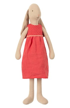 Детского игрушка заяц 3 MAILEG красного цвета, арт. 16-9300-00   Фото 1