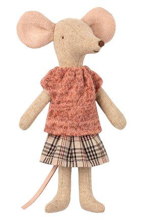 Детского игрушка мышка мама MAILEG разноцветного цвета, арт. 16-9742-00   Фото 1