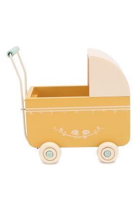 Детского игрушка коляска для новорожденных MAILEG желтого цвета, арт. 11-8001-02   Фото 2