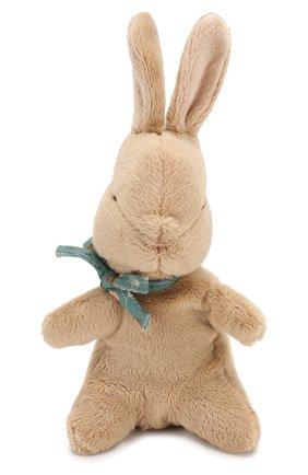 Детского игрушка заяц малыш MAILEG коричневого цвета, арт. 16-8992-02 | Фото 1