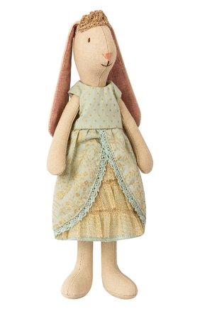 Детского игрушка заяц принцесса MAILEG бежевого цвета, арт. 16-8121-01 | Фото 1
