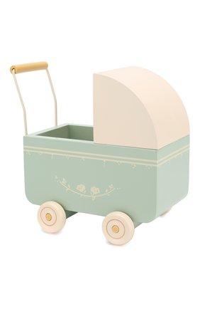 Детского игрушка коляска микро MAILEG голубого цвета, арт. 11-8002-01   Фото 1