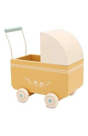 Детского игрушка коляска микро MAILEG желтого цвета, арт. 11-8002-02   Фото 1