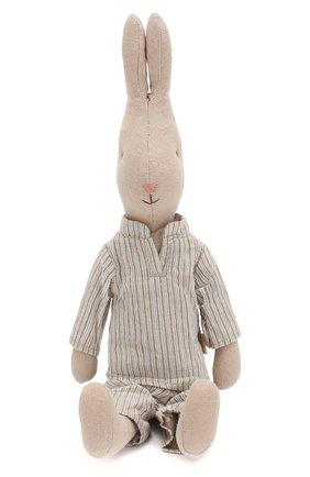 Детского игрушка кролик 2 MAILEG голубого цвета, арт. 16-9222-00   Фото 1