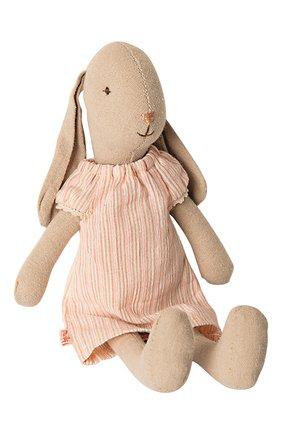 Детского игрушка заяц 1 MAILEG розового цвета, арт. 16-9102-00 | Фото 1