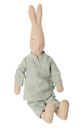 Детского игрушка кролик 3 MAILEG голубого цвета, арт. 16-9323-00   Фото 1