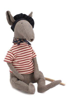 Детского игрушка крыса в сырной коробке MAILEG серого цвета, арт. 16-9970-00 | Фото 2