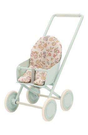 Детского игрушка прогулочная коляска микро MAILEG светло-голубого цвета, арт. 11-9110-01   Фото 2