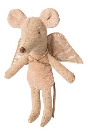 Детского мышка младшая сестра, фея MAILEG розового цвета, арт. 16-9725-00 | Фото 1