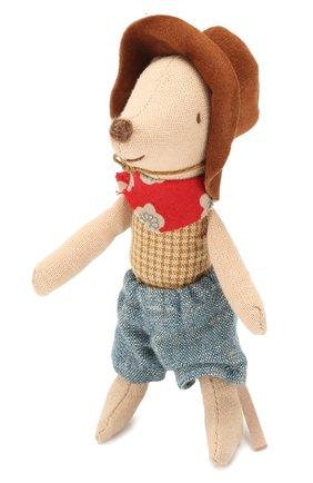 Детского игрушка мышонок ковбой MAILEG бежевого цвета, арт. 16-9723-01 | Фото 2