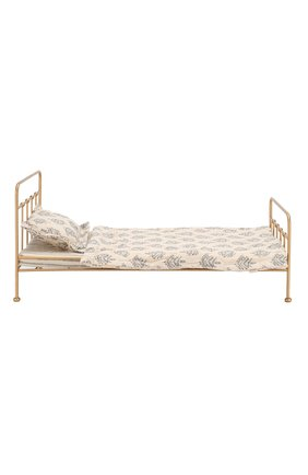 Детского игрушка винтажная кровать медиум MAILEG золотого цвета, арт. 11-7203-05 | Фото 2