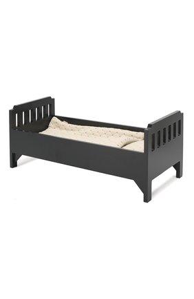 Детского игрушка кровать большая MAILEG черного цвета, арт. 11-6033-07 | Фото 1