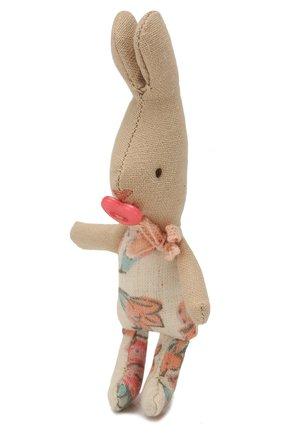 Детского игрушка новорожденный кролик MAILEG бежевого цвета, арт. 16-3005-17   Фото 2