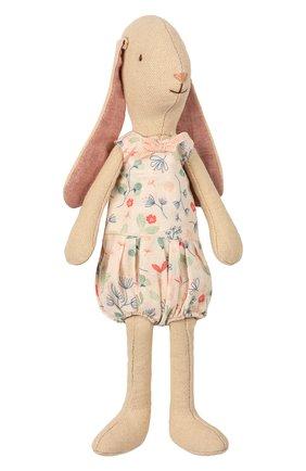 Детского игрушка заяц мини MAILEG бежевого цвета, арт. 16-8125-01 | Фото 1