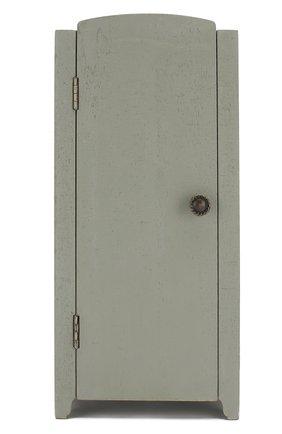 Детского игрушка винтажный шкаф мини MAILEG светло-серого цвета, арт. 11-9001-00 | Фото 1