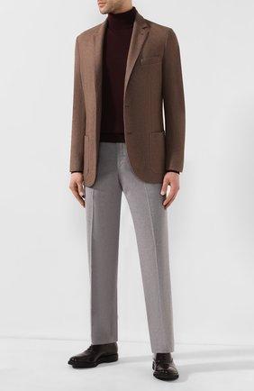 Мужские кожаные оксфорды PREMIATA бордового цвета, арт. E2126/ANTIC | Фото 2