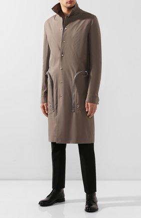 Мужские кожаные ботинки MOMA черного цвета, арт. 2BS030-CA   Фото 2