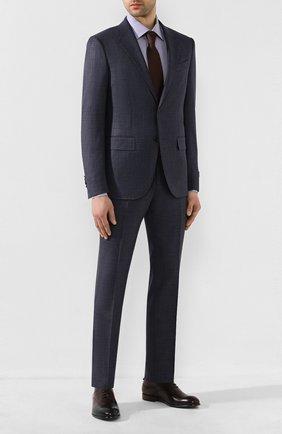 Мужские кожаные оксфорды ERMENEGILDO ZEGNA коричневого цвета, арт. A4385X-LHNAX | Фото 2