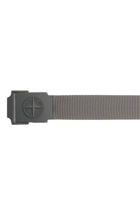 Мужской текстильный ремень STONE ISLAND темно-серого цвета, арт. 721594071   Фото 3