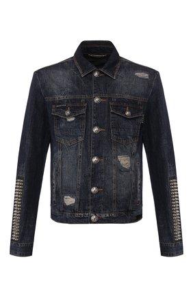 Мужская джинсовая куртка PHILIPP PLEIN синего цвета, арт. S20C MDB0255 PDE004N | Фото 1