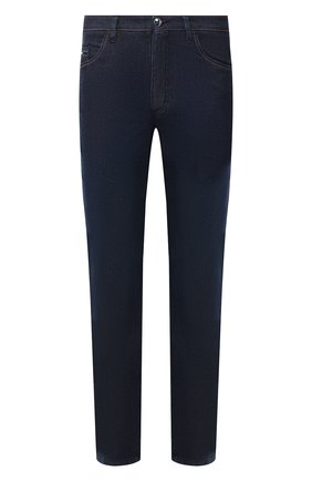 Мужские джинсы ZILLI темно-синего цвета, арт. MCT-00052-LKBL1/S001 | Фото 1