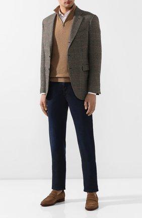 Мужские джинсы ZILLI темно-синего цвета, арт. MCT-00052-LKBL1/S001 | Фото 2