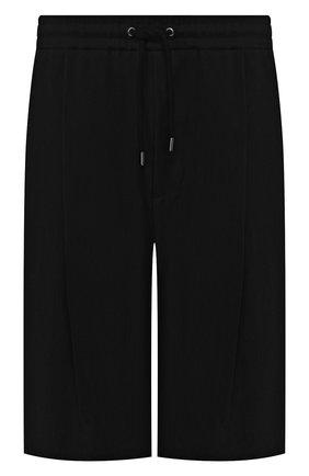 Мужские шорты GIORGIO ARMANI черного цвета, арт. 9SGPB003/T00AB | Фото 1