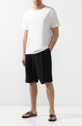 Мужские шорты GIORGIO ARMANI черного цвета, арт. 9SGPB003/T00AB | Фото 2