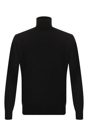 Мужской шерстяная водолазка CRUCIANI черного цвета, арт. CU164B.D01F6V | Фото 1