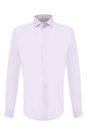Мужская хлопковая сорочка BRIONI сиреневого цвета, арт. RCL01J/P905B | Фото 1