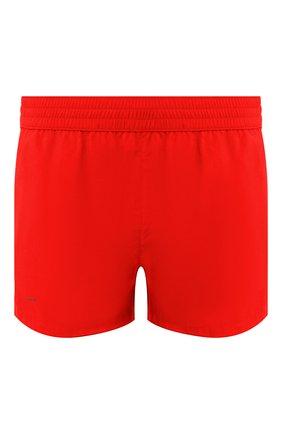 Детского плавки-шорты BOTTEGA VENETA красного цвета, арт. 608245/4V010 | Фото 1