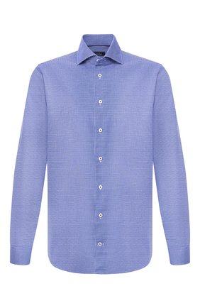 Мужская хлопковая сорочка VAN LAACK синего цвета, арт. TIVARA2-PTF/161864 | Фото 1