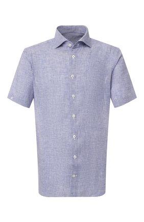 Мужская льняная рубашка VAN LAACK синего цвета, арт. RIVARA-S-TF/156195 | Фото 1