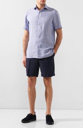 Мужская льняная рубашка VAN LAACK синего цвета, арт. RIVARA-S-TF/156195 | Фото 2