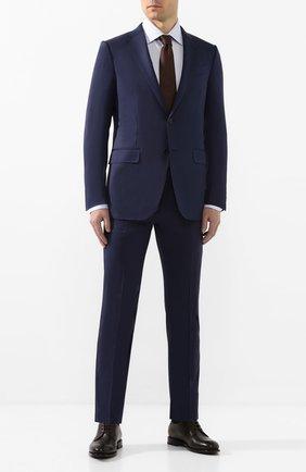 Мужской шерстяной костюм ERMENEGILDO ZEGNA синего цвета, арт. 722009/221225 | Фото 1