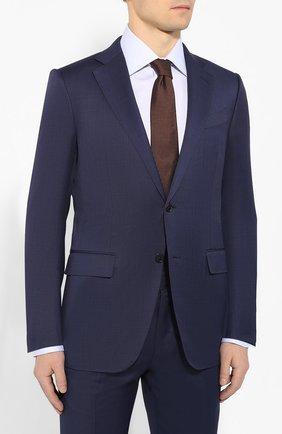 Мужской шерстяной костюм ERMENEGILDO ZEGNA синего цвета, арт. 722009/221225 | Фото 2