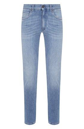 Мужские джинсы ERMENEGILDO ZEGNA голубого цвета, арт. UUI53/JSC2 | Фото 1