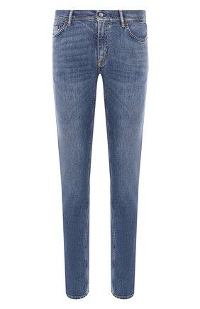 Мужские джинсы ACNE STUDIOS синего цвета, арт. 30Y176-140 | Фото 1
