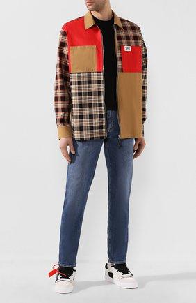 Мужские джинсы ACNE STUDIOS синего цвета, арт. 30Y176-140 | Фото 2