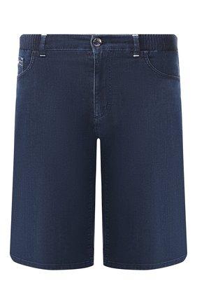 Мужские джинсовые шорты ZILLI синего цвета, арт. MCT-00078-DEUL1/R001 | Фото 1