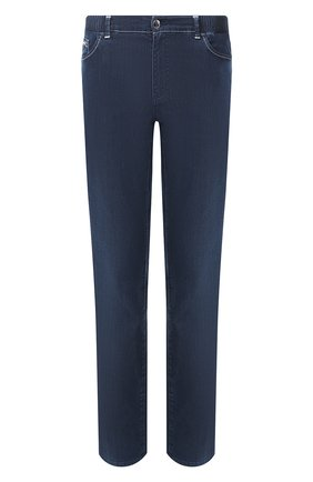 Мужские джинсы ZILLI синего цвета, арт. MCT-00071-DEUL1/R001 | Фото 1