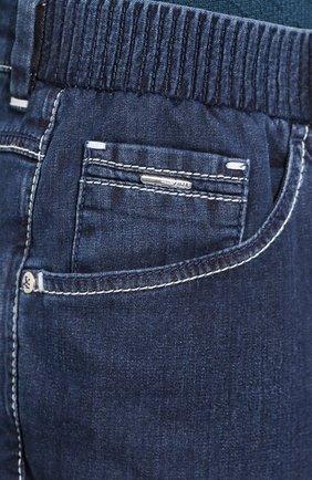 Мужские джинсы ZILLI синего цвета, арт. MCT-00071-DEUL1/R001   Фото 5