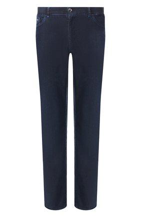 Мужские джинсы ZILLI темно-синего цвета, арт. MCT-00071-DEUL1/R001 | Фото 1