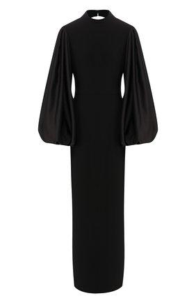 Женское платье-макси RASARIO черного цвета, арт. 0031W9 | Фото 1