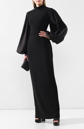 Женское платье-макси RASARIO черного цвета, арт. 0031W9 | Фото 2