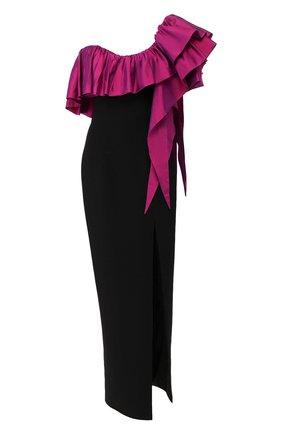 Женское платье-макси RASARIO черного цвета, арт. 0070W9_3 | Фото 1
