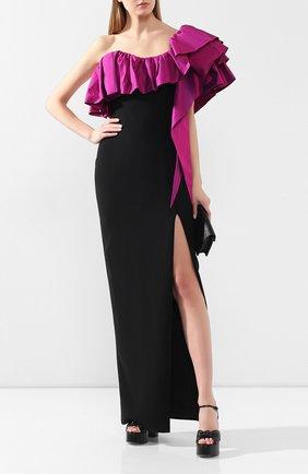 Женское платье-макси RASARIO черного цвета, арт. 0070W9_3 | Фото 2